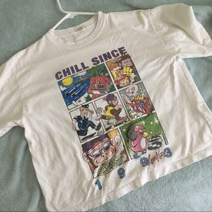 brandy melville chill since graphic tee